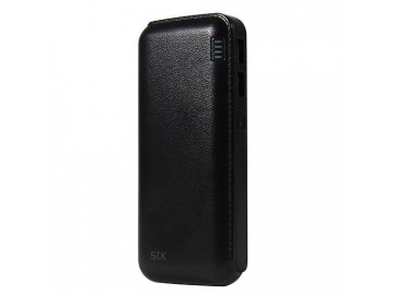 STK Mammoth Power Bank 10000mAh - Sort