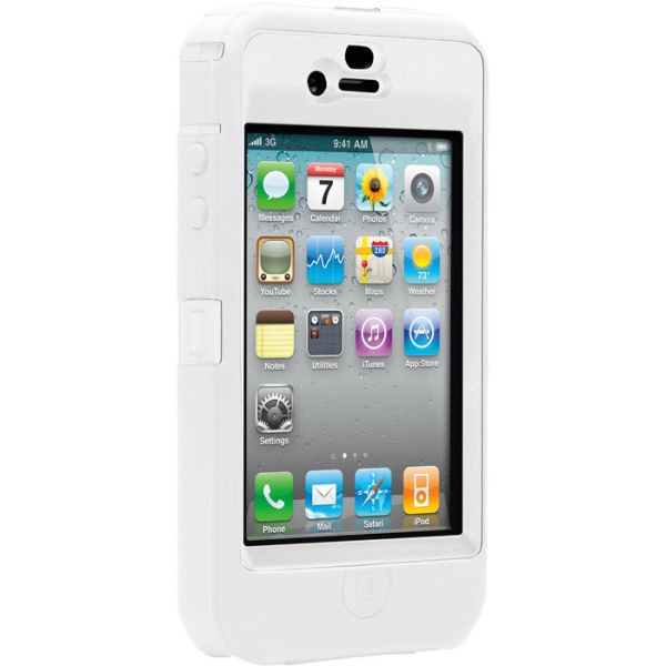 otterbox iphone 4s otterbox defender til iphone 4 4s hvid original 12746