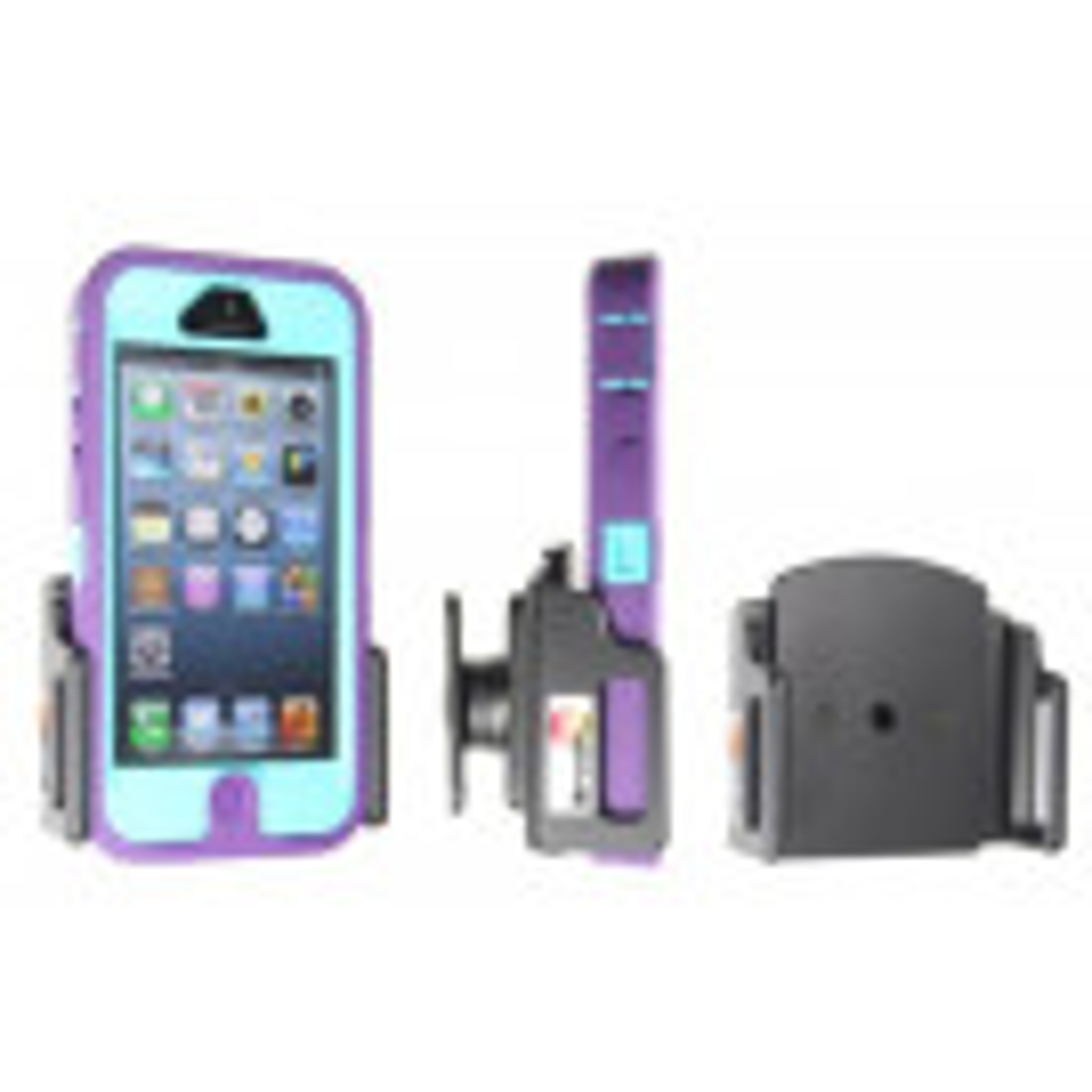 Brodit Apple iPhone 5/5S med beskyttelsescover - Passiv Holder