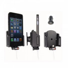 Brodit Apple iPhone 5/5S Justerbar holder B:49-63/D:6-10 m. kabeltilslutning og Belkin USB adapter  - Passiv Holder