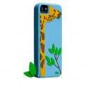 Case Mate Creatures Case Apple iPhone 5/5S - Leafy (Giraf) - Blå