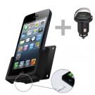 Fix2Car Apple iPhone 5/5S - Passiv Holder med 12V USB Billader