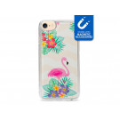 My Style Magneta Case til Apple iPhone 6, 6s, 7, 8 og SE (2020) - Flamingo