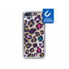 My Style Magneta Case til Apple iPhone 6 Plus, 6s Plus, 7 Plus og 8 Plus - Colorful Leopard