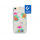 My Style Magneta Case til Apple iPhone 6 Plus, 6s Plus, 7 Plus og 8 Plus - Flamingo