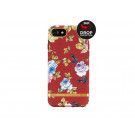 Elegant Richmond & Finch Freedom Series beskyttelsescover til Apple iPhone 6, 6S, 7, 8 og SE (2020) - Red Floral/Gold