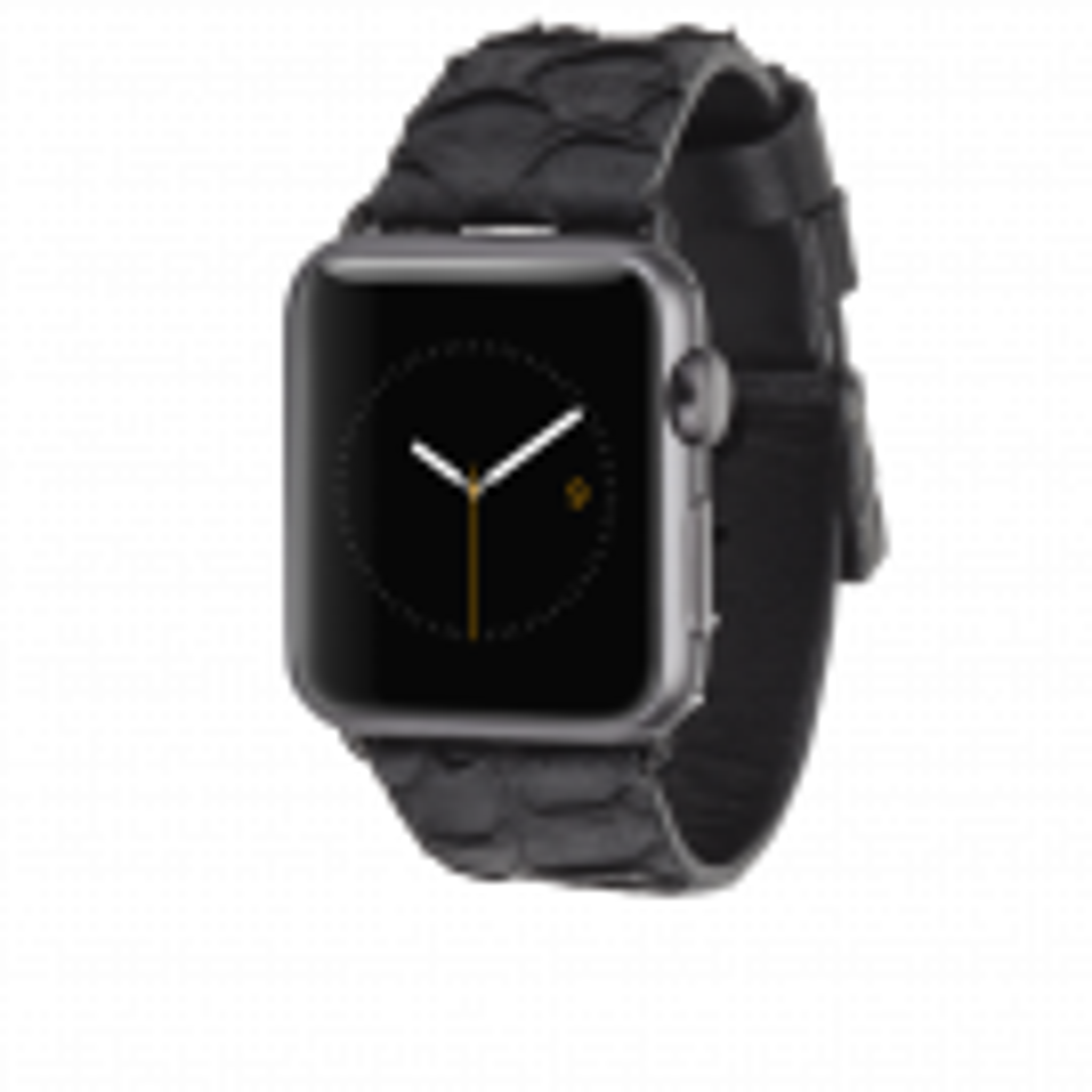 Case Mate Scaled Læder Urrem til Apple Watch 38 mm - Sort