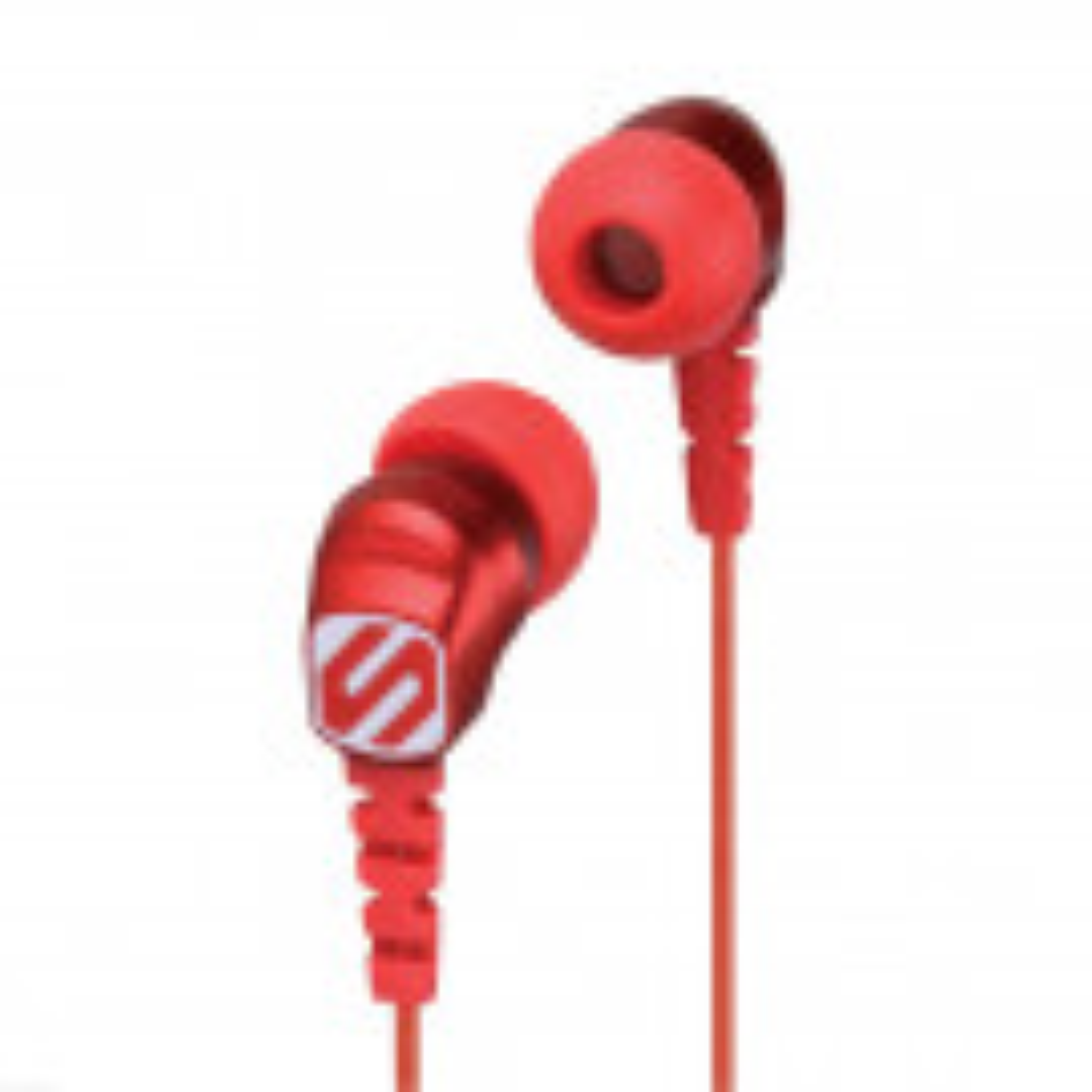 Scosche ThudBUDS hovedtelefoner 3,5 mm - Rød