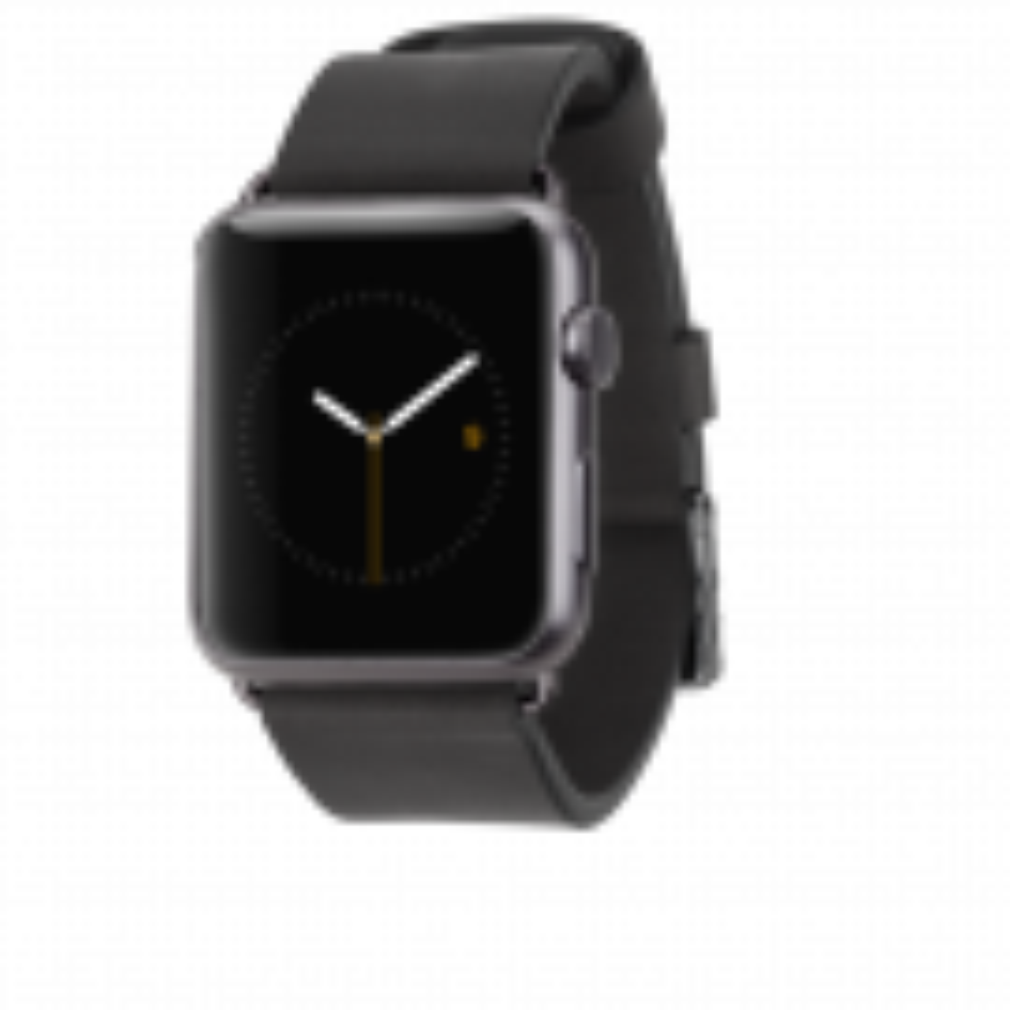 Case Mate Signature Læder Urrem til Apple Watch 42 mm - Sort