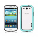 Walnutt by Zenus Metro Block Samsung Galaxy S3 - Menthol Blue