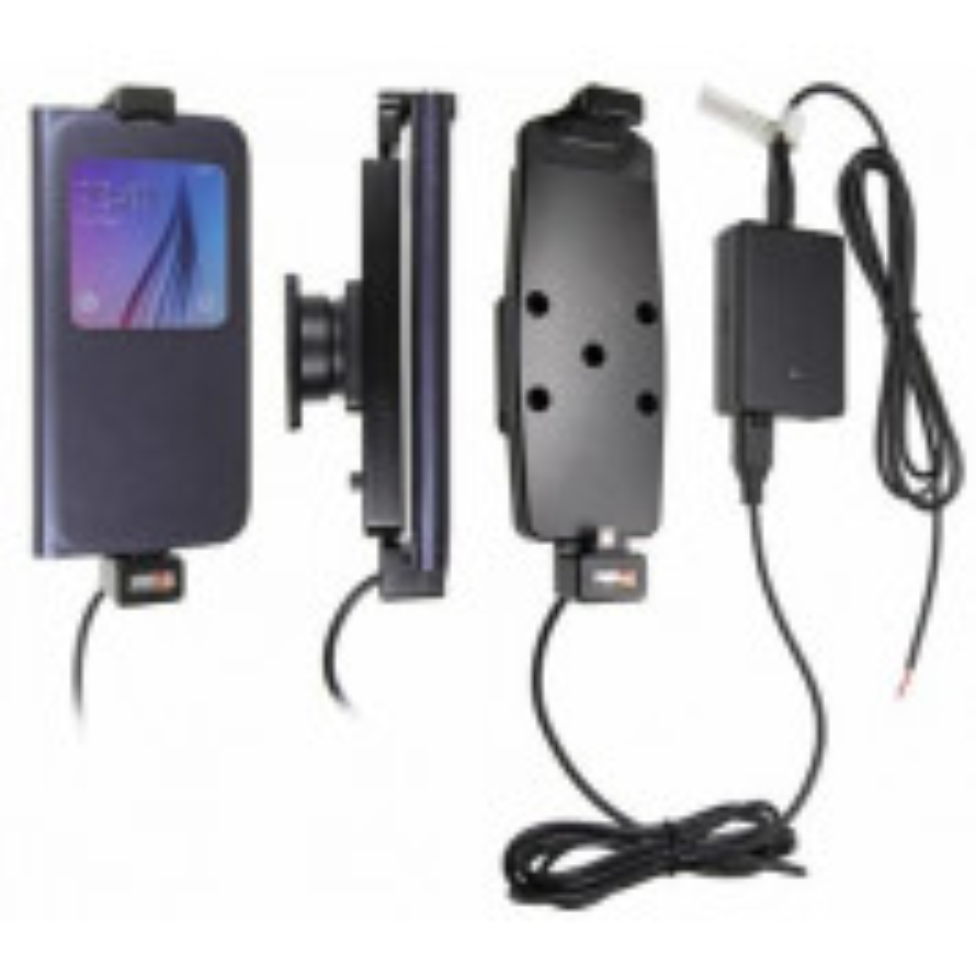Brodit Samsung Galaxy S6, S6 Edge og S7 med beskyttelsescover - Faststrøms Aktiv Holder
