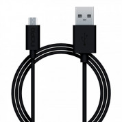 Incipio PW-200-BLK Data/ladekabel microUSB - Sort